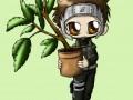Ямато с растением
